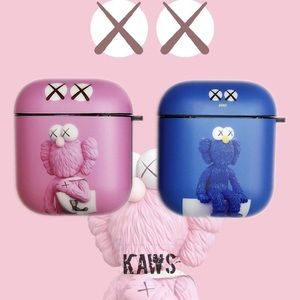 Kaws Sesame Street Airpods Case Compatible 1 & 2